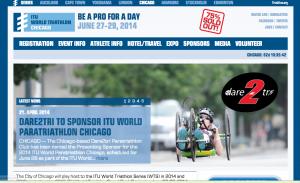 ITU World Triathlon in Chicago