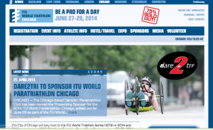 ITU World Triathlon in Chicago