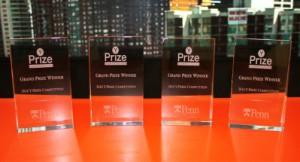 Y-prize trophies